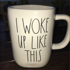 """Rae Dunn """" I woke Up Like This"""" mug"""